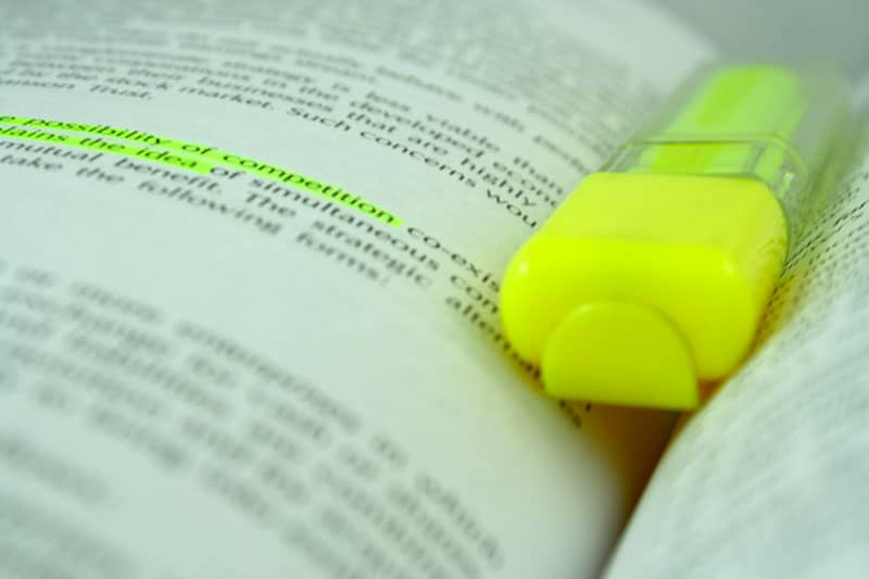 Image of The secrets behind highlighting your work