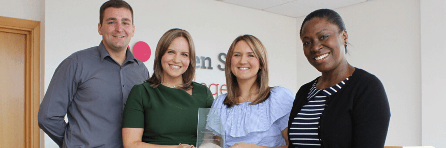 Image of Open Study College named Further Education College of the Year