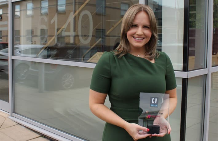 Image of OSC co-founder wins Influential Women in Business Award