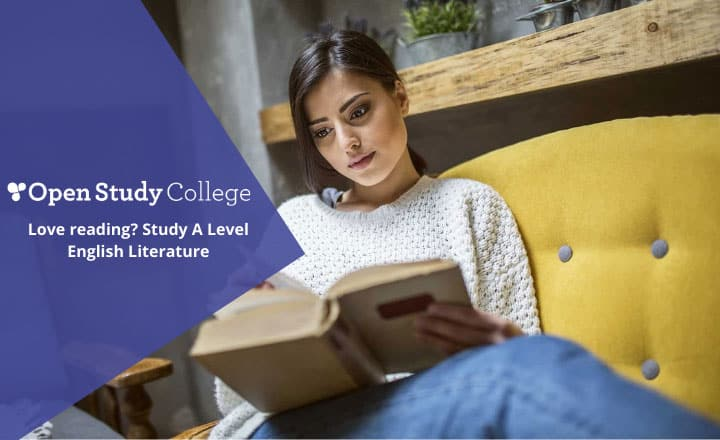 Image of Passionate about reading? Study A Level English Literature