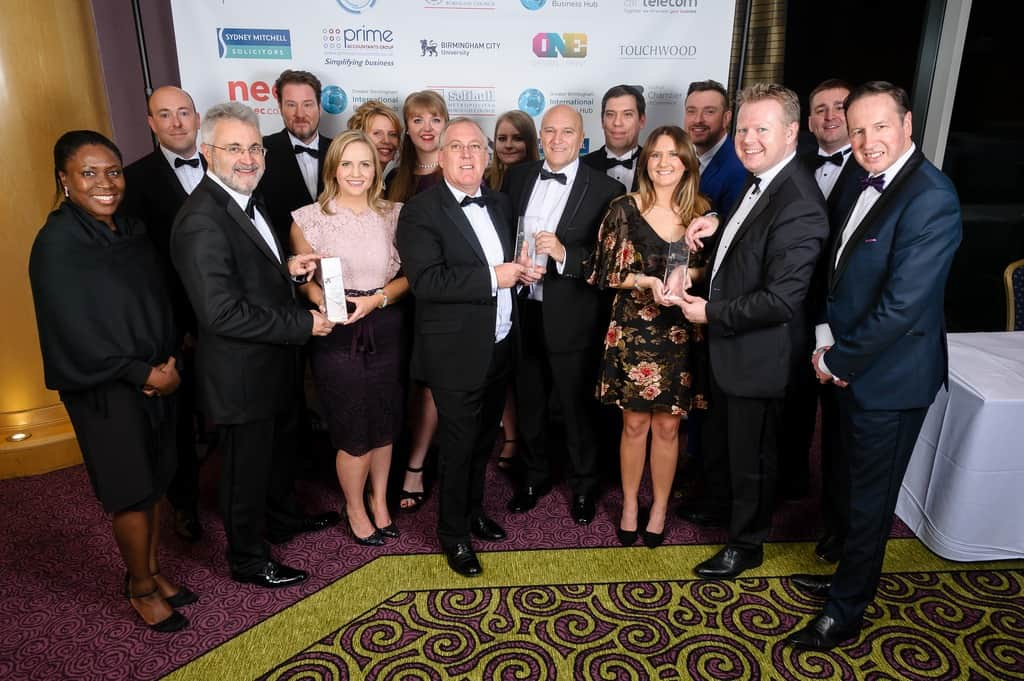 Image of Open Study College wins big at Solihull Chamber of Commerce awards