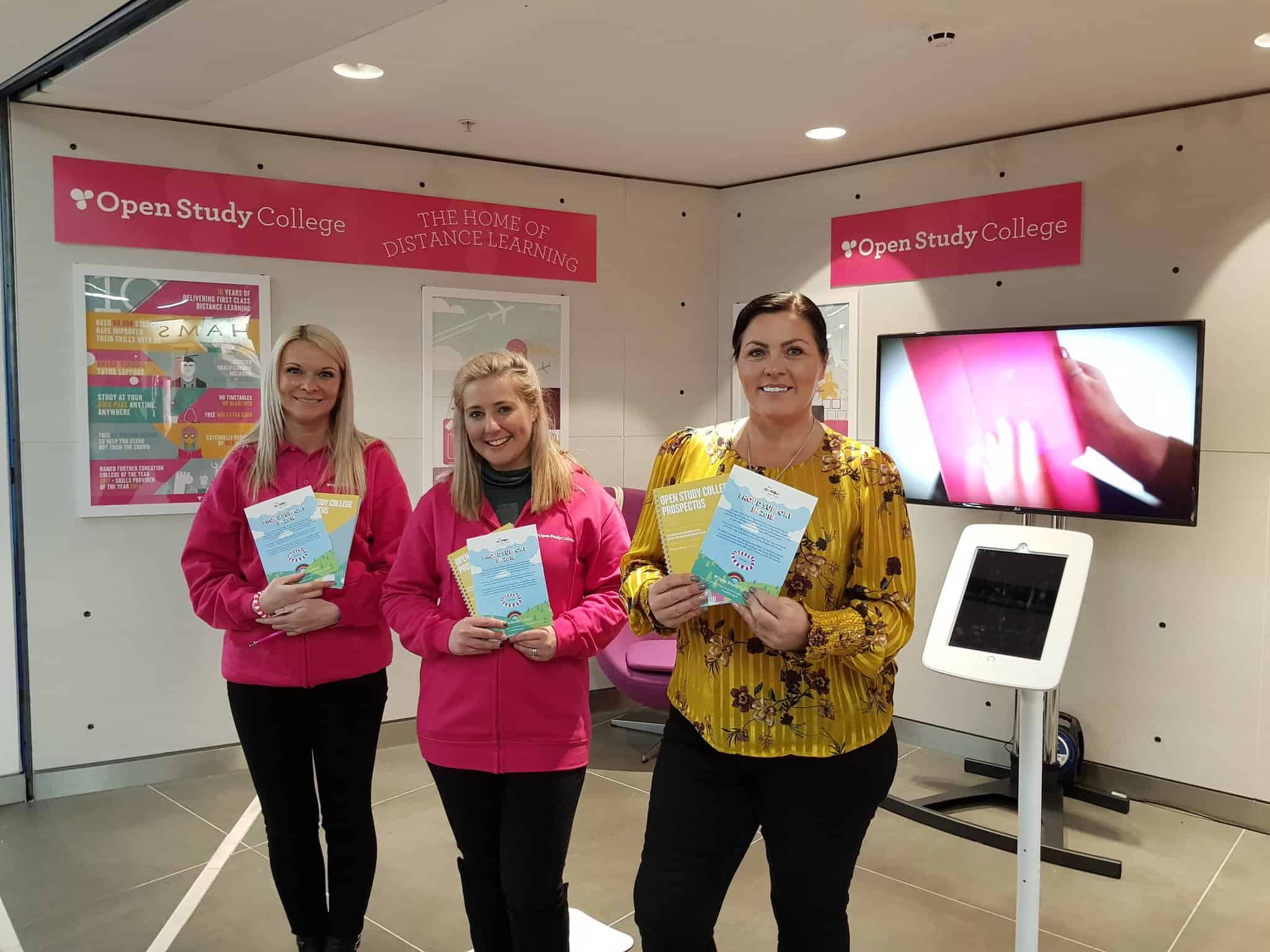 Image of Georgie Moseley from Help Harry Help Others visits our pop-up shop