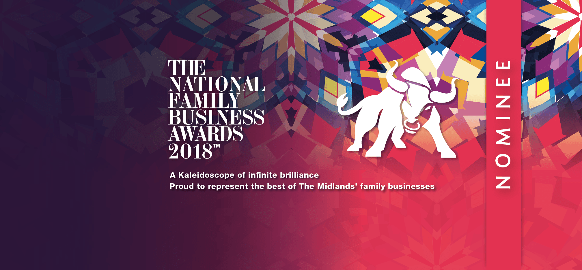 Image of We're an official nominee at The National Family Business Awards!