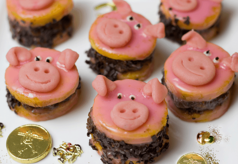 Image of Happy Chinese New Year of the Pig