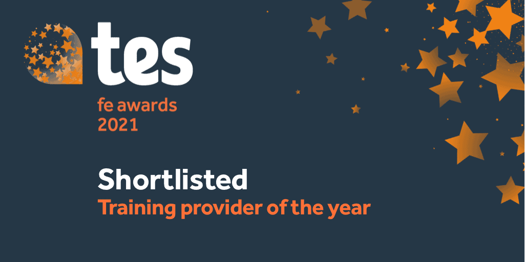 Image of OSC shortlisted at the Tes FE Awards 2021