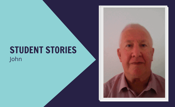 Image of Studying in your seventies: John's story